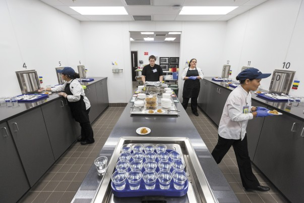 Sensory Lab in Culinary and Innovation Center