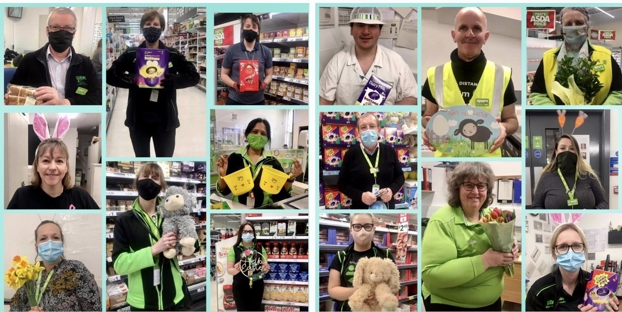Happy Easter from Asda Frome   Asda Frome
