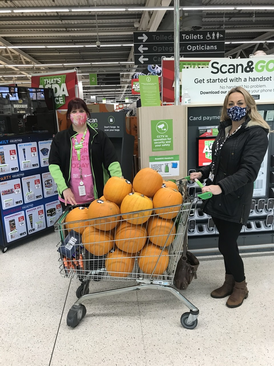 Pumpkin fun | Asda Blackwood