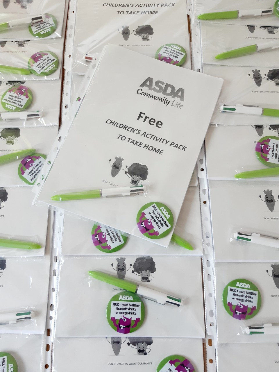 Yesterday I made up some free activity packs for the children to take home 🤗 theres lots of lovely recipes ideas inside 😍  | Asda Norwich