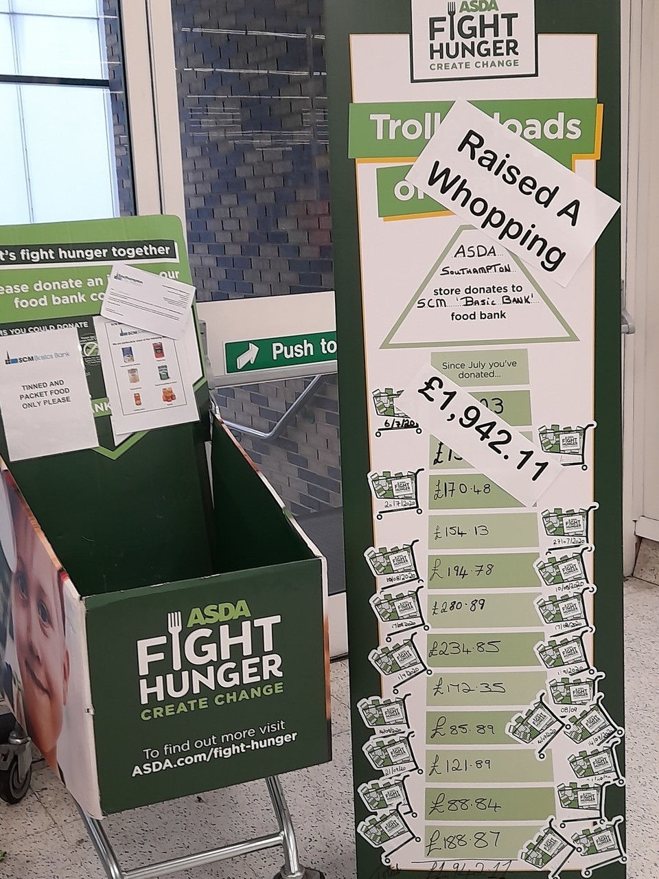 Working together to fight hunger | Asda Southampton