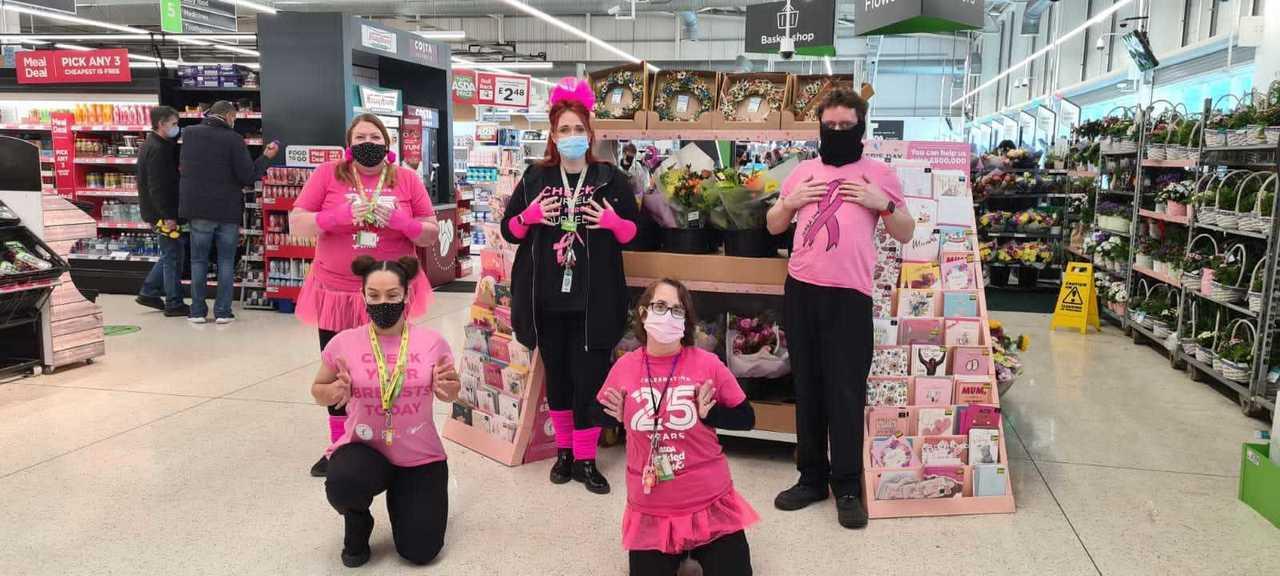 Celebrating 25 years of Tickled Pink | Asda Hessle