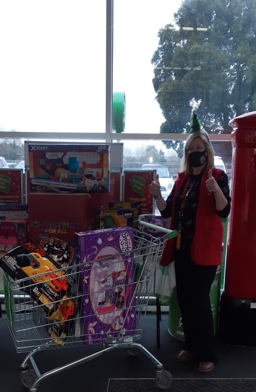 Christmas Gift and Toy Appeal for The Salvation Army | Asda Ipswich Stoke Park