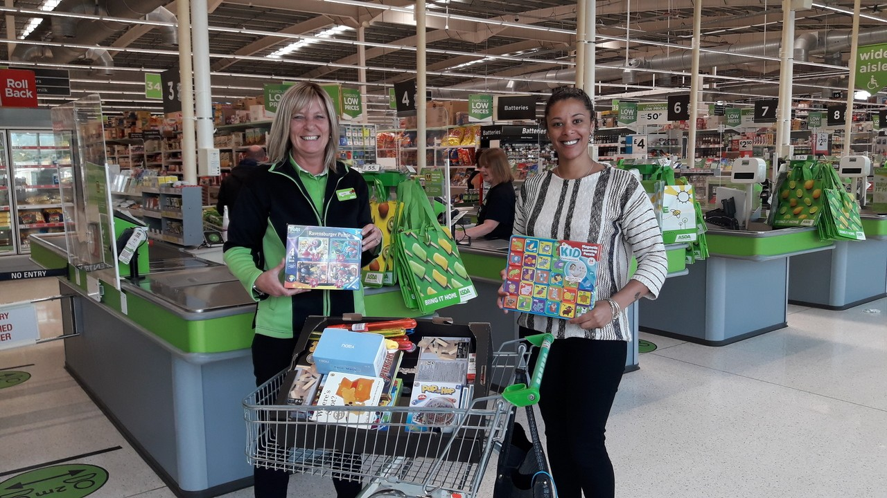 Donation for Colliers Residential Home  | Asda Coventry