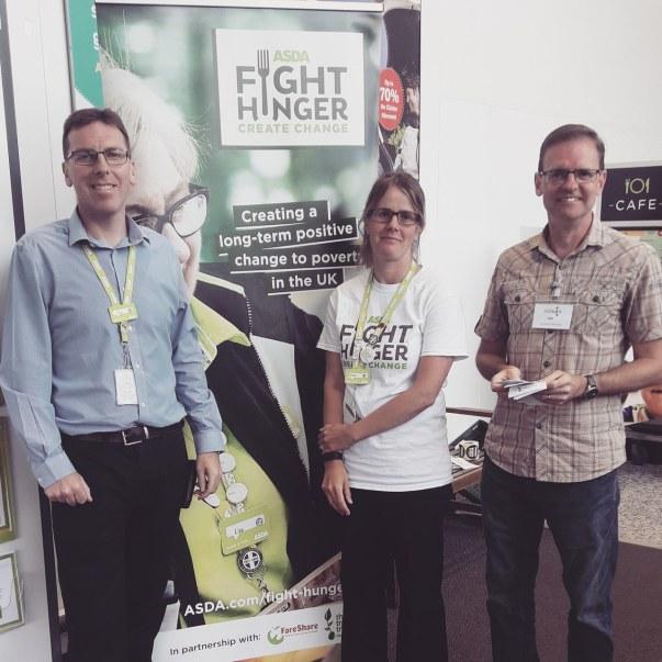 Asda Fight Hunger Create Change at Asda St Austell