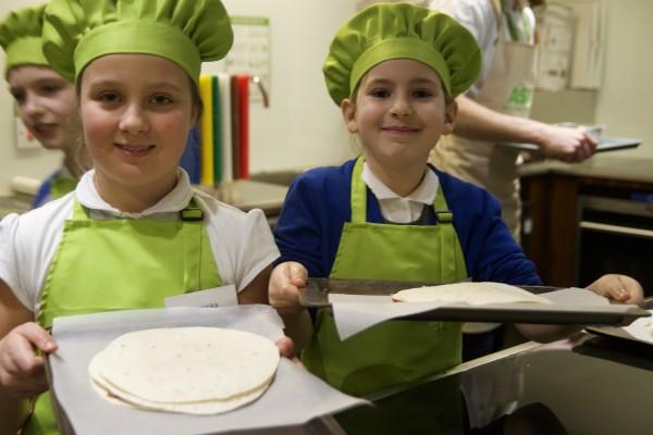 Sharp Lane Primary School Veg Heroes with Asda Middleton