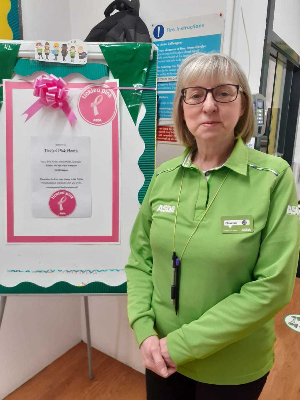 Asda Auntie Maureen marks 35 years' service | Asda Blantyre
