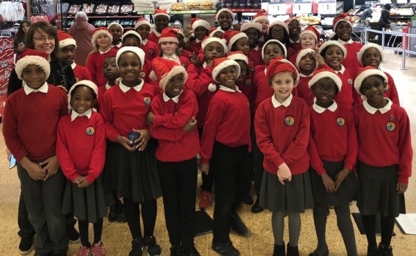 Asda Charlton Christmas choir