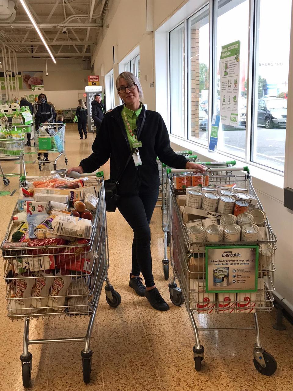 Foodbank donation | Asda Charlton