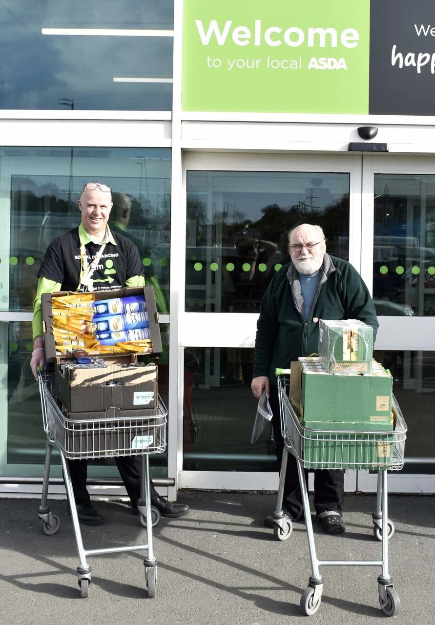 Northern Devon Foodbank support | Asda Bideford