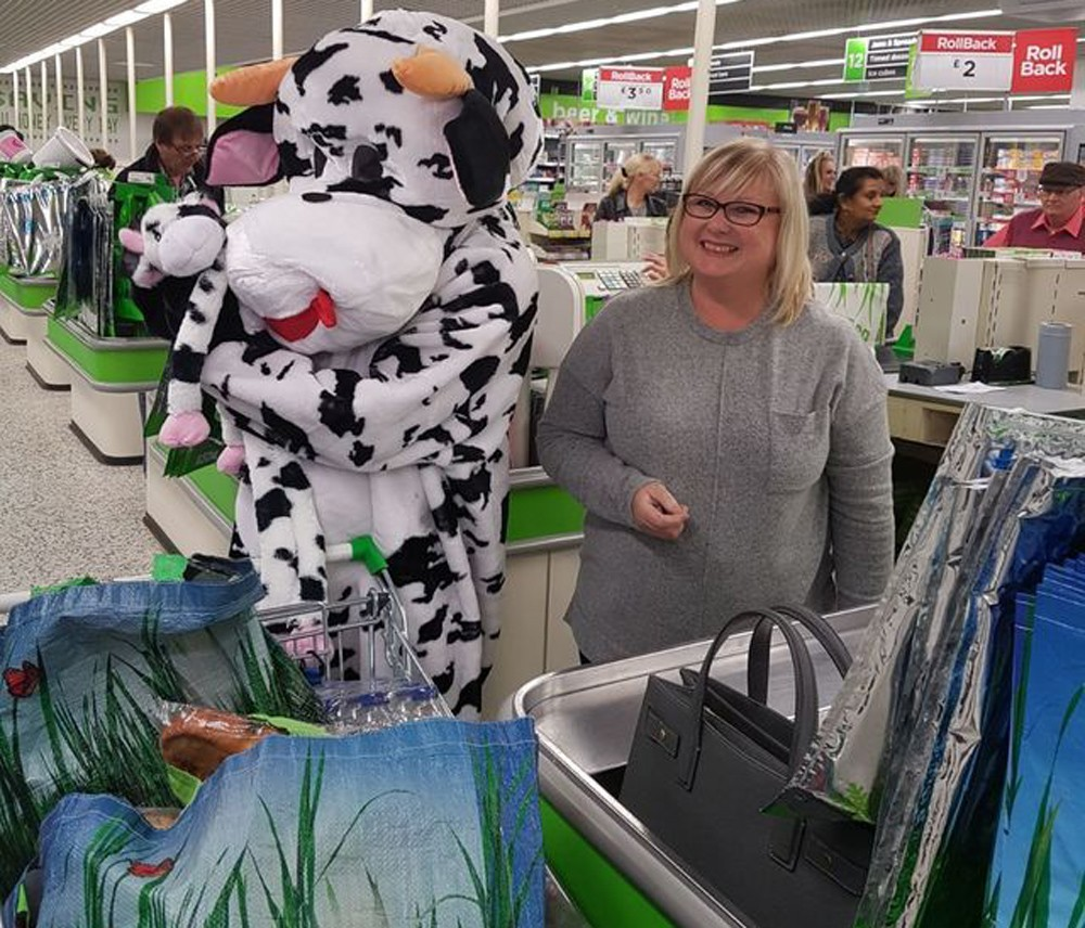 This Morning at Asda Nuneaton