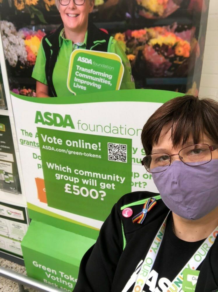 Green Token Giving has gone DIGITAL | Asda Golborne