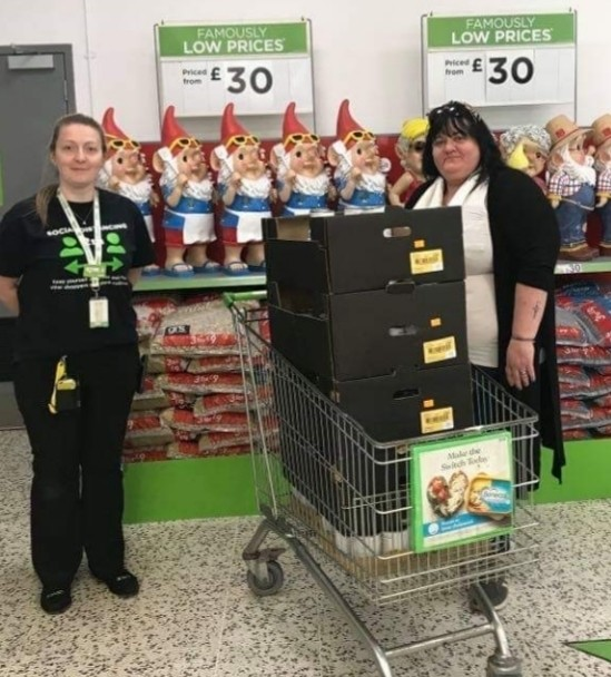 Food parcels to support our community  | Asda Gosforth