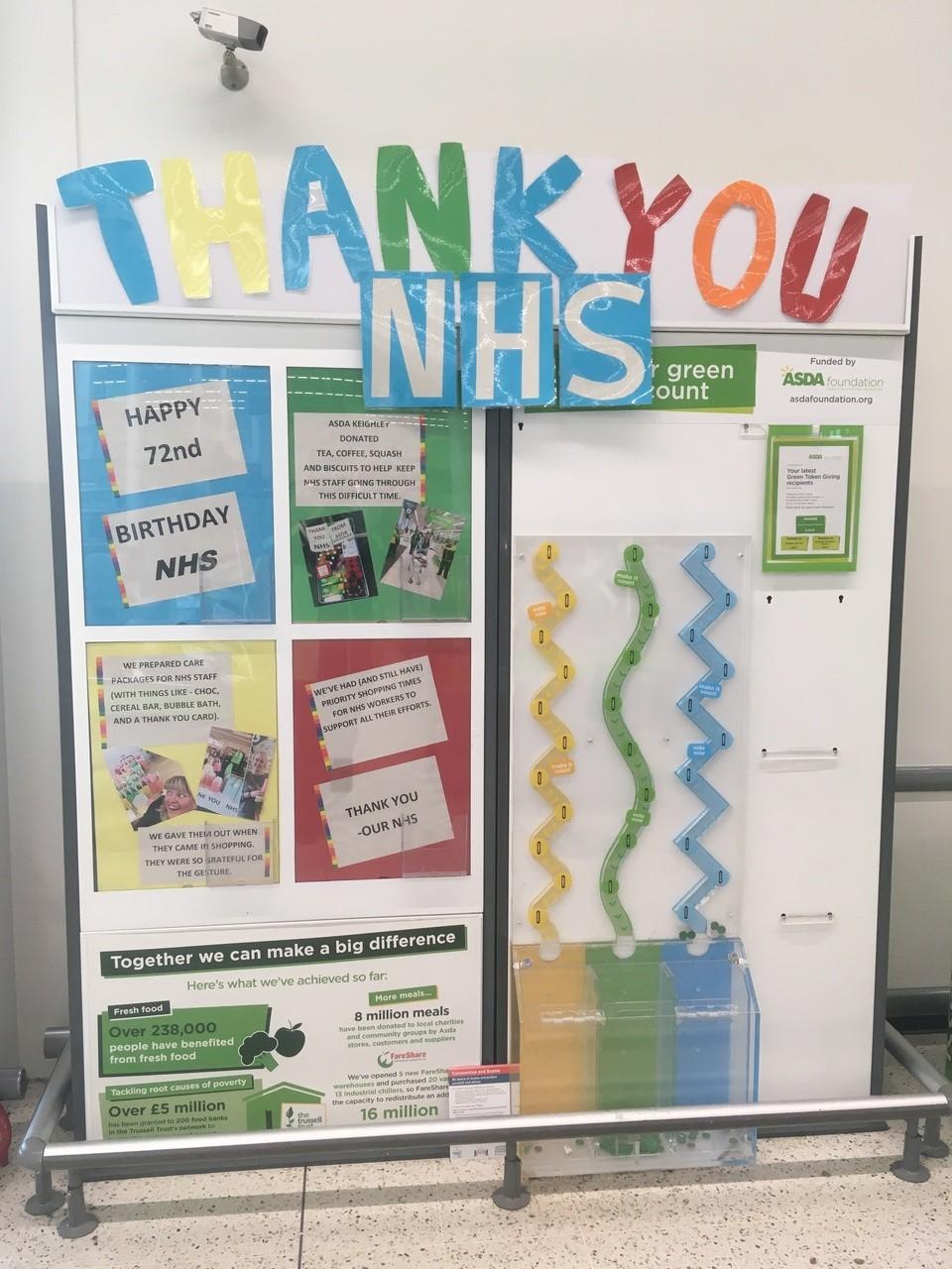 Happy Birthday NHS | Asda Keighley
