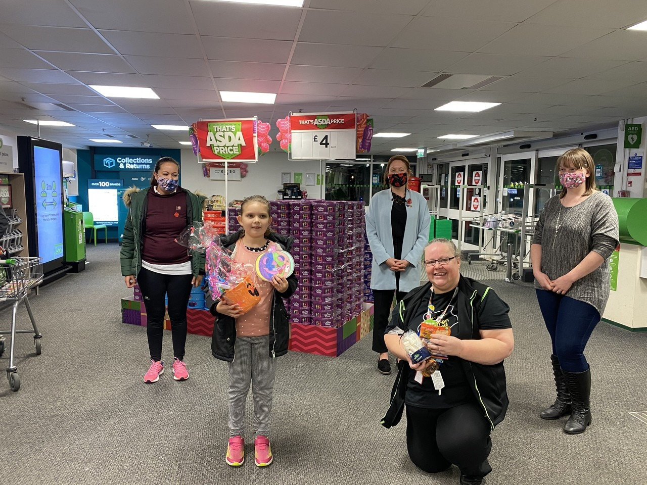 Prize giving  | Asda Gosport