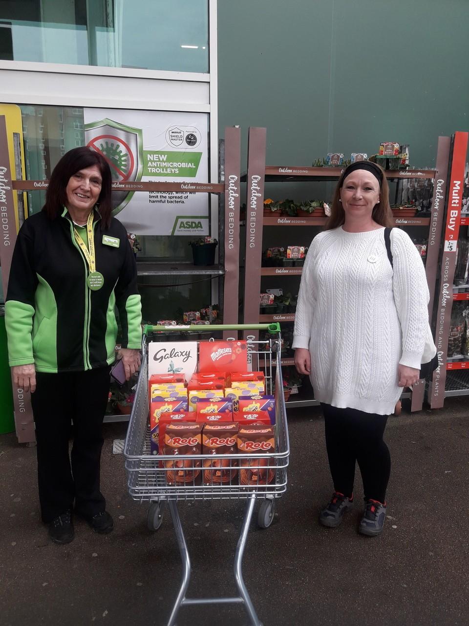 Easter egg donation | Asda Poole