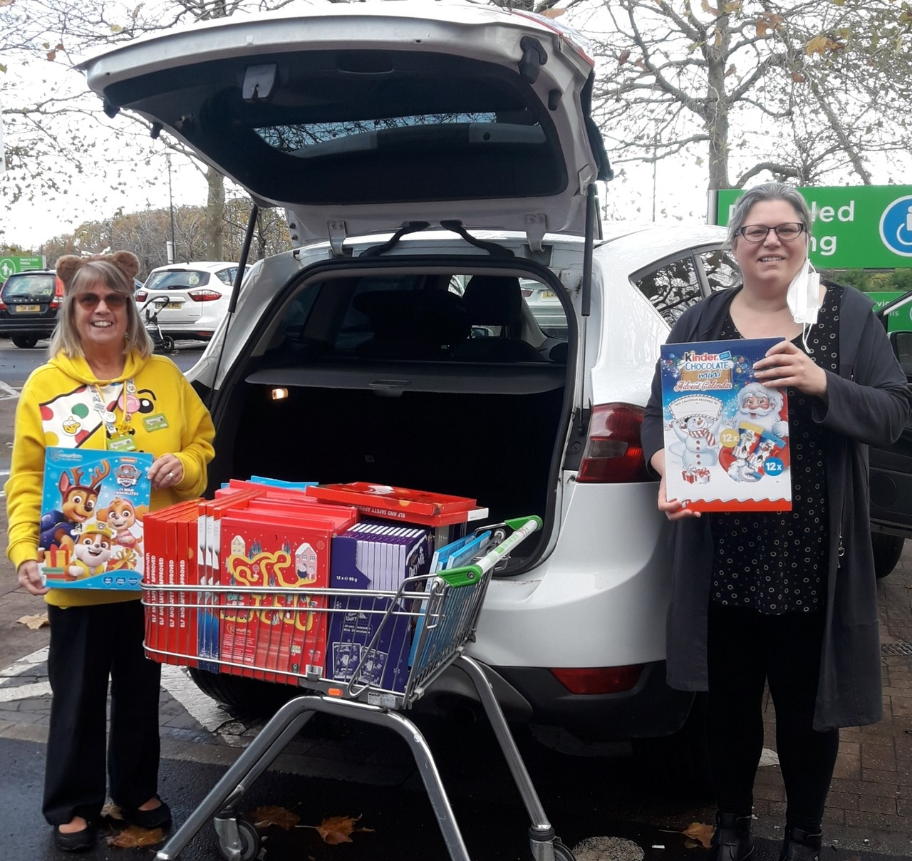 Donation to East Malling Larder | Asda Kingshill