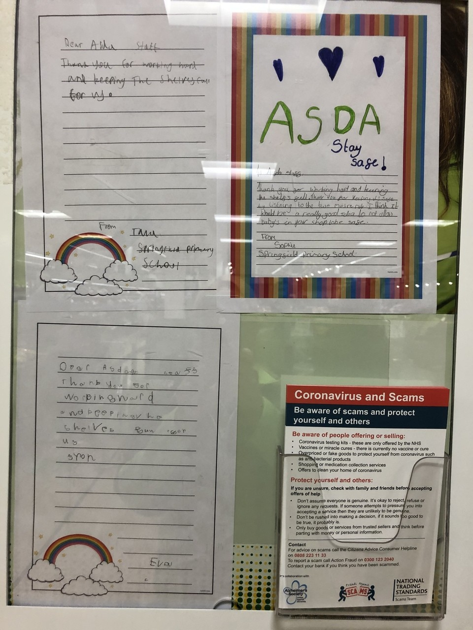 Thank you Springfield Primary School | Asda Derby