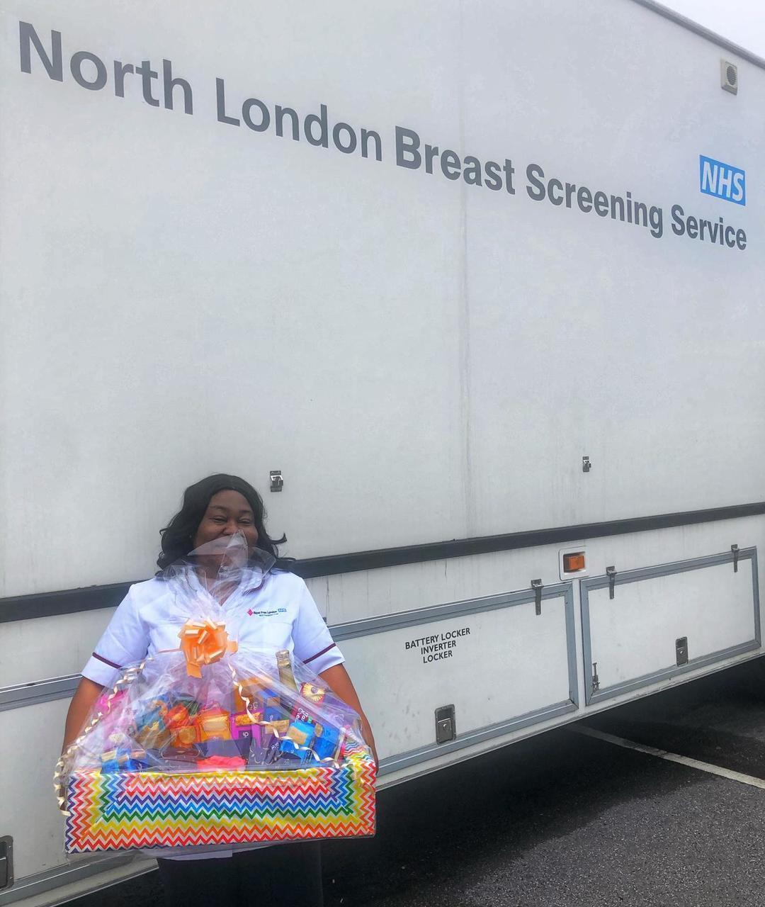 NHS breast screening van is back!  | Asda Leyton Mills
