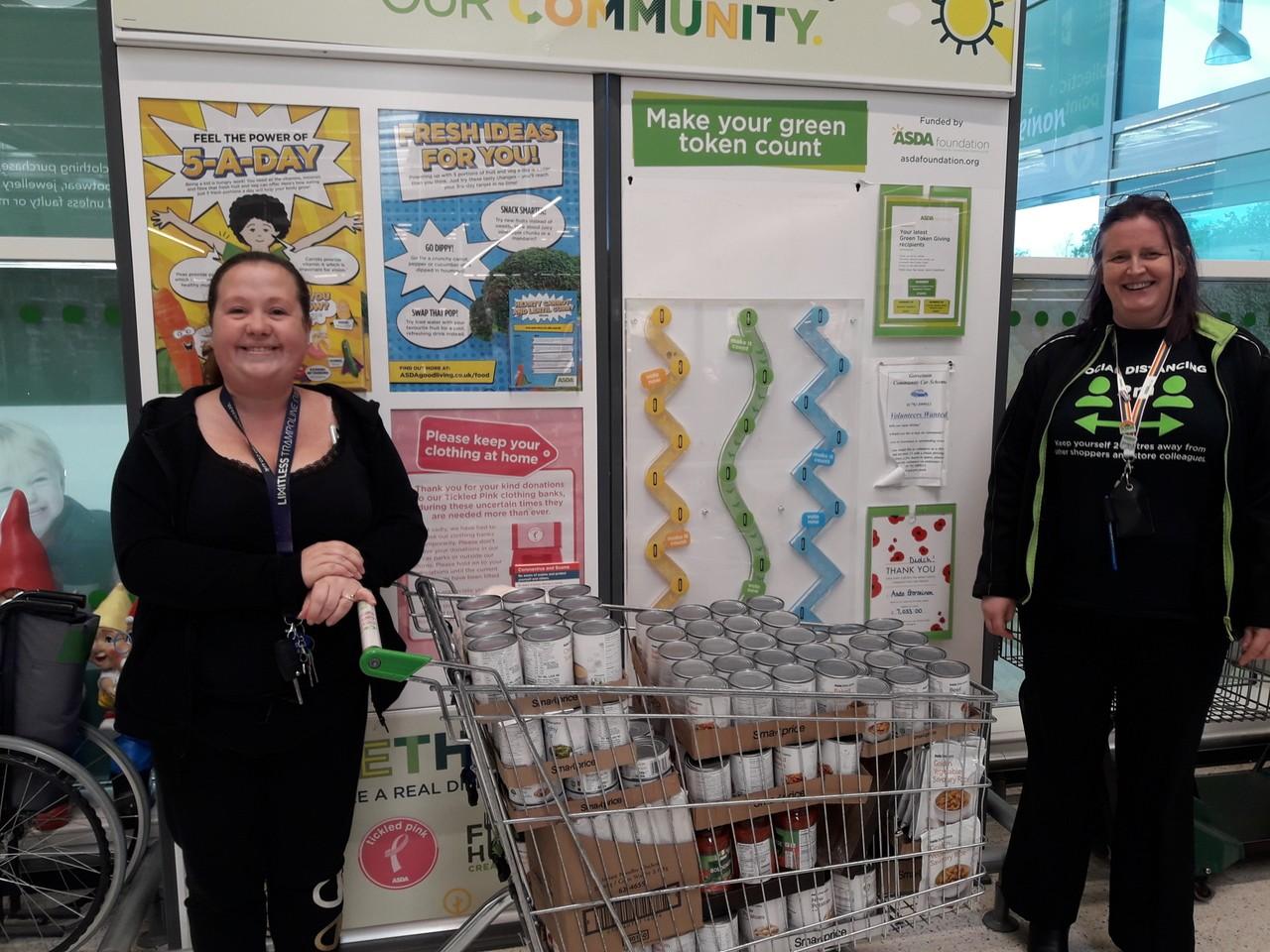 Penlan Community Foodbank donation | Asda Gorseinon