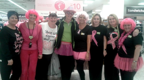 Tickled Pink at Asda Gosforth