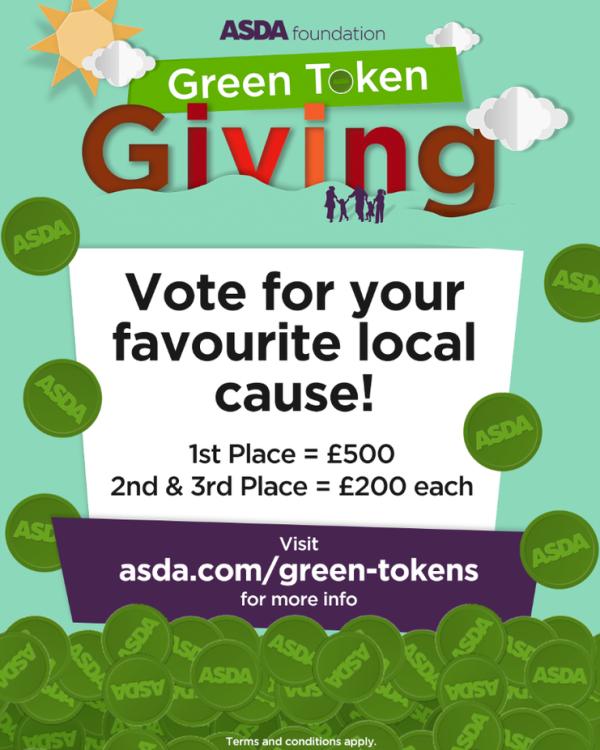 Asda Foundation Green Token Giving