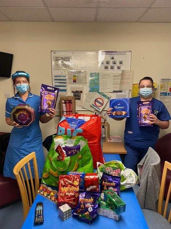 Nurses thank us for donations   Asda Hessle