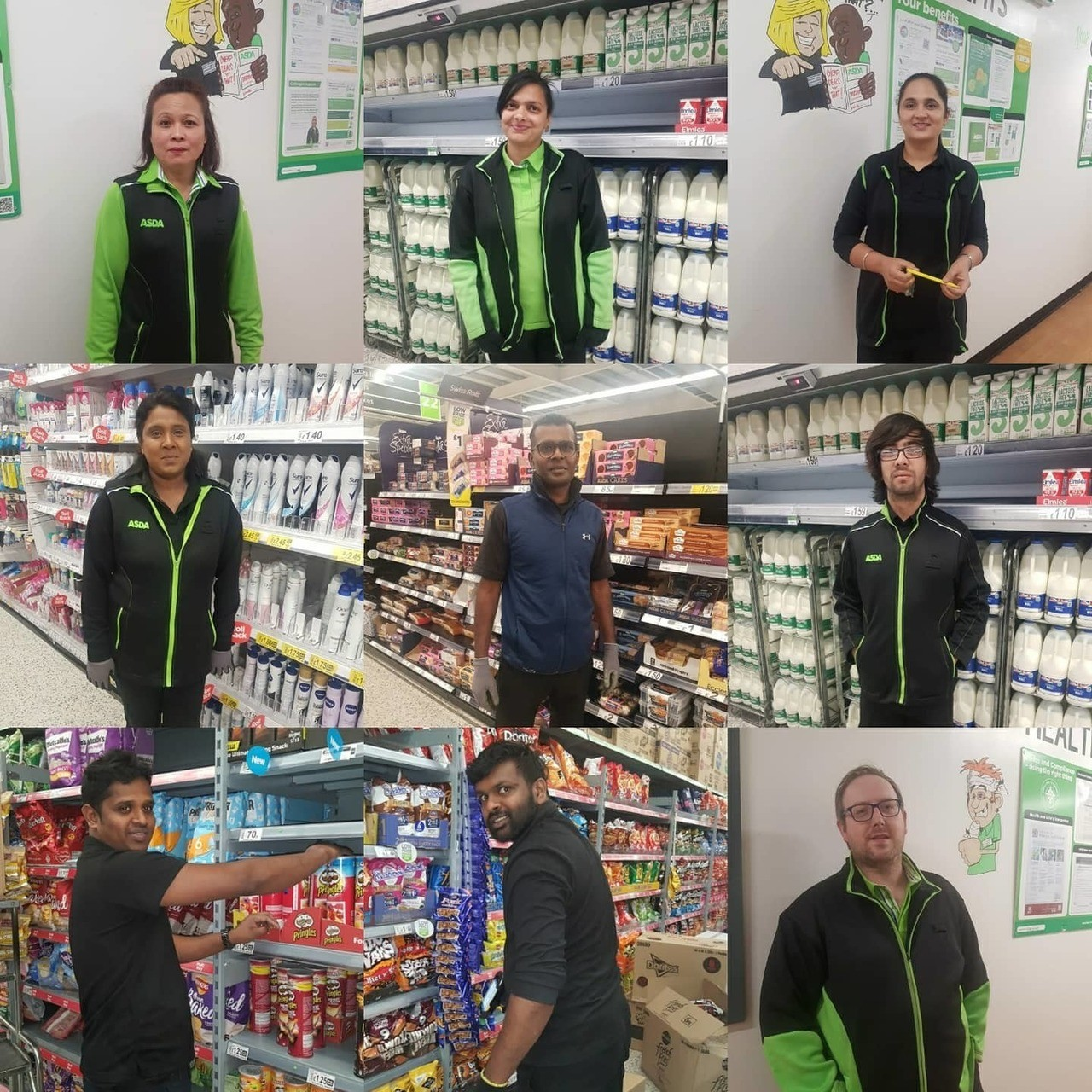 Well done to all colleagues | Asda Hayes