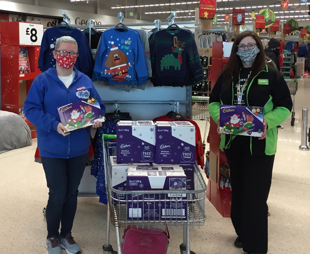Selection Boxes for Kids Club | Asda Fraserburgh