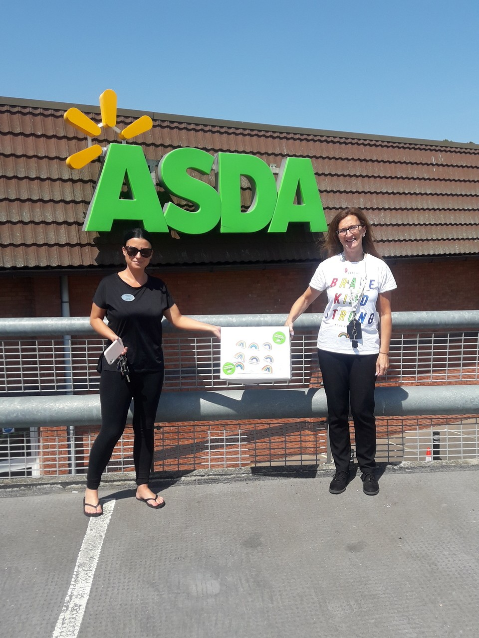 Donation to local care home  | Asda Oadby