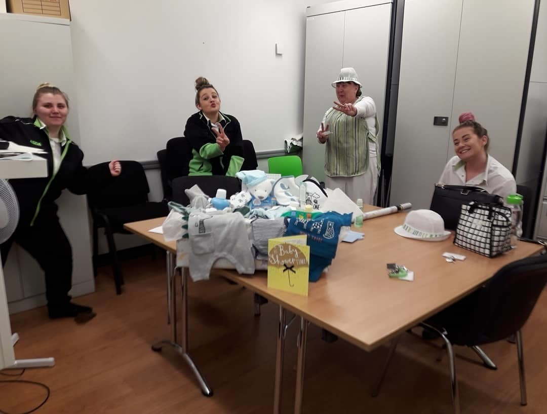 Baby item donation from the 'angels' | Asda Reddish