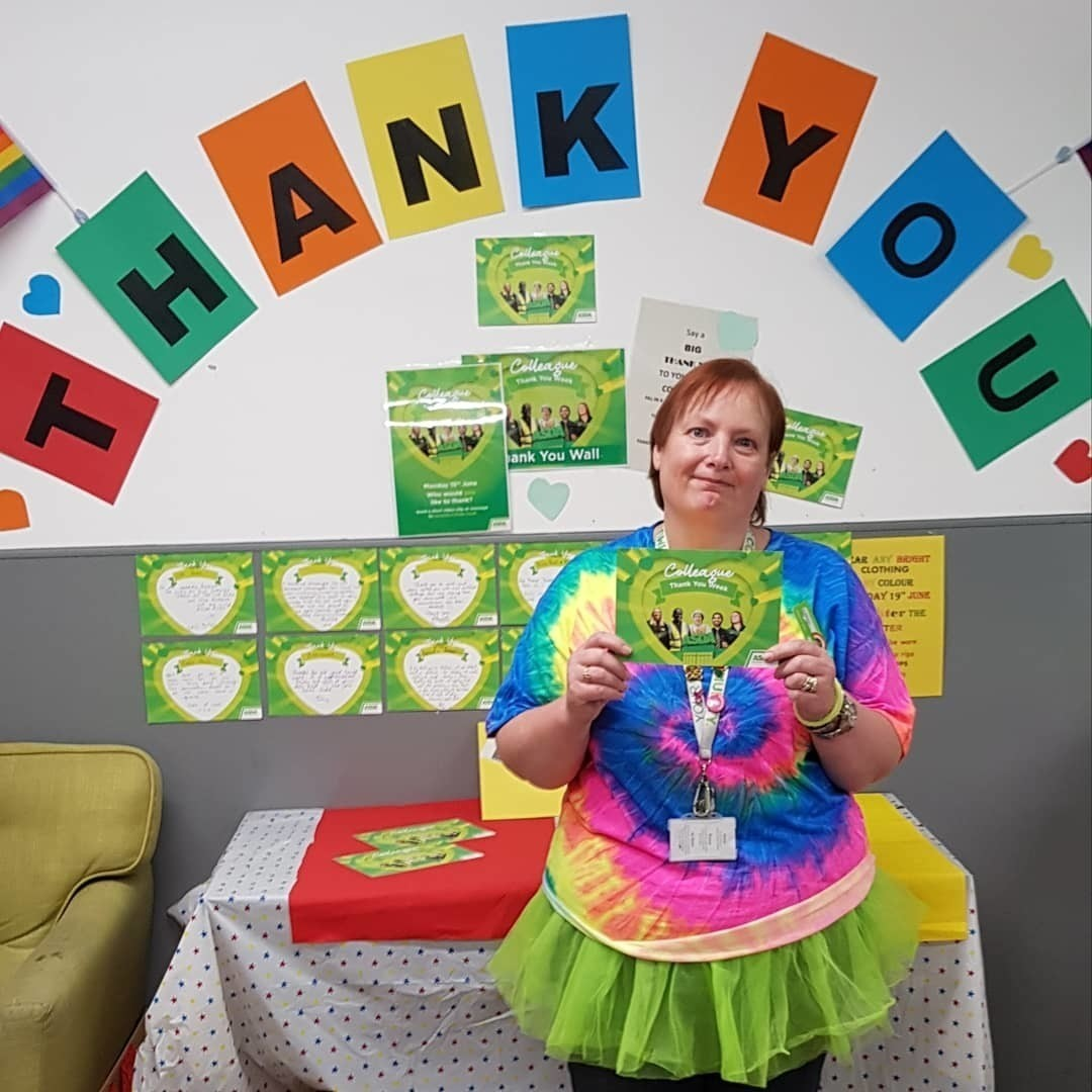 Rainbow Day for amazing colleagues | Asda Tonypandy