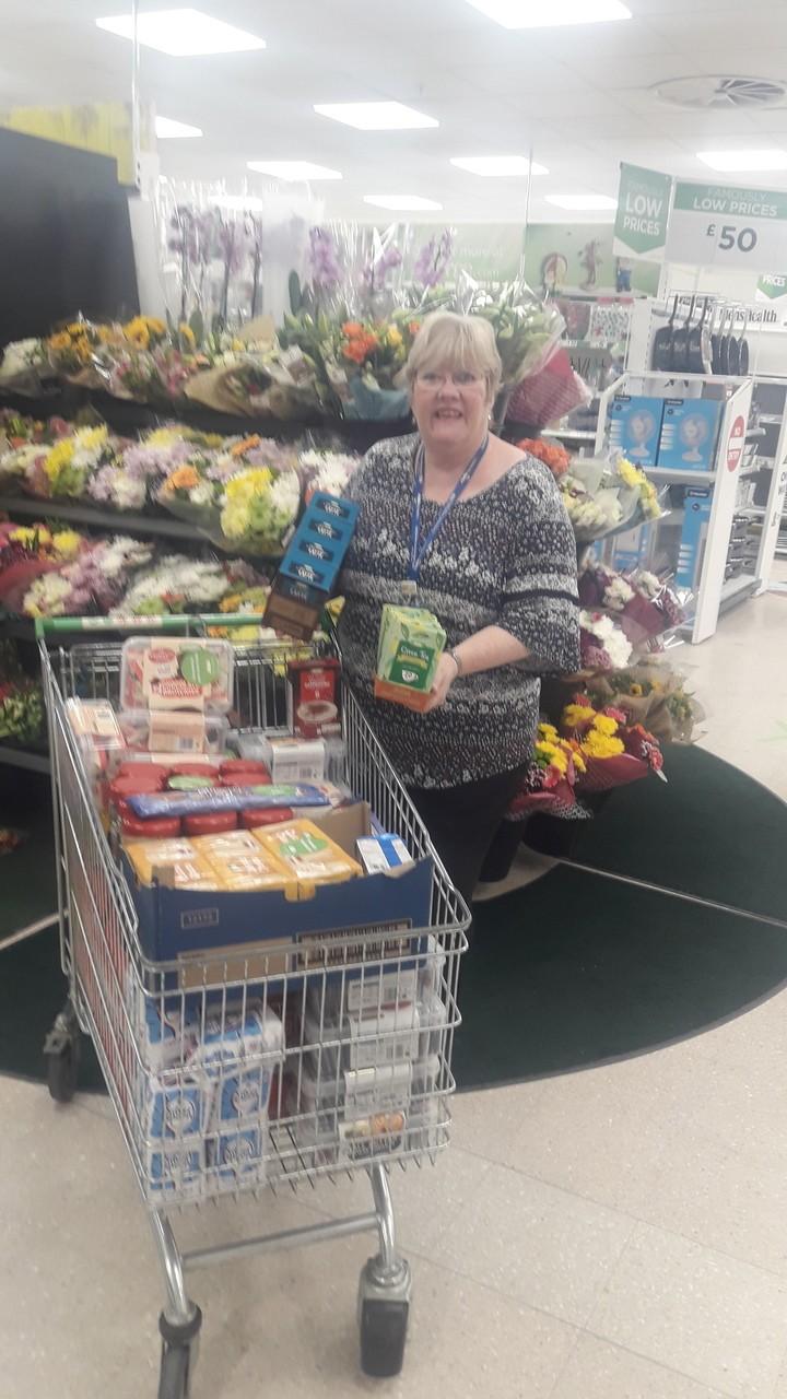 Supporting the NHS Community Teams | Asda Darlington