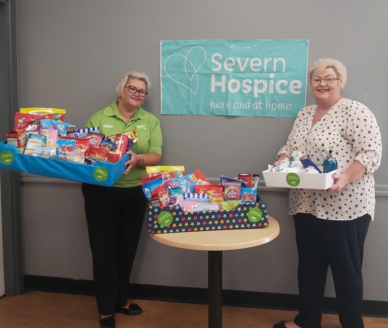 Helping Severn Hospice | Asda Donnington Wood