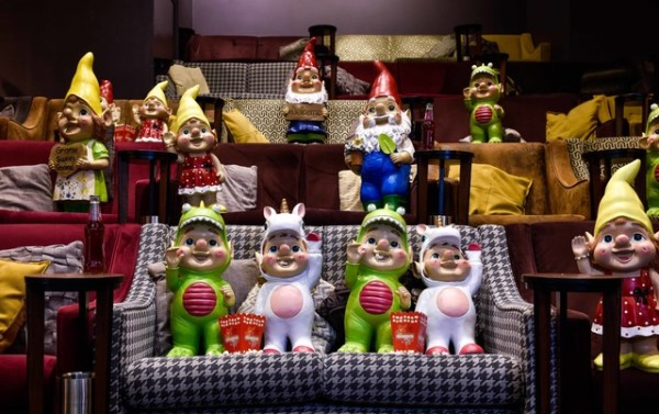 Some of the new gnomes from Asda