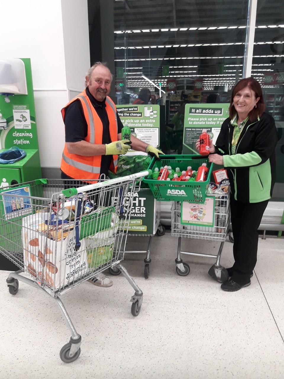 Food bank donations from Asda Poole | Asda Poole