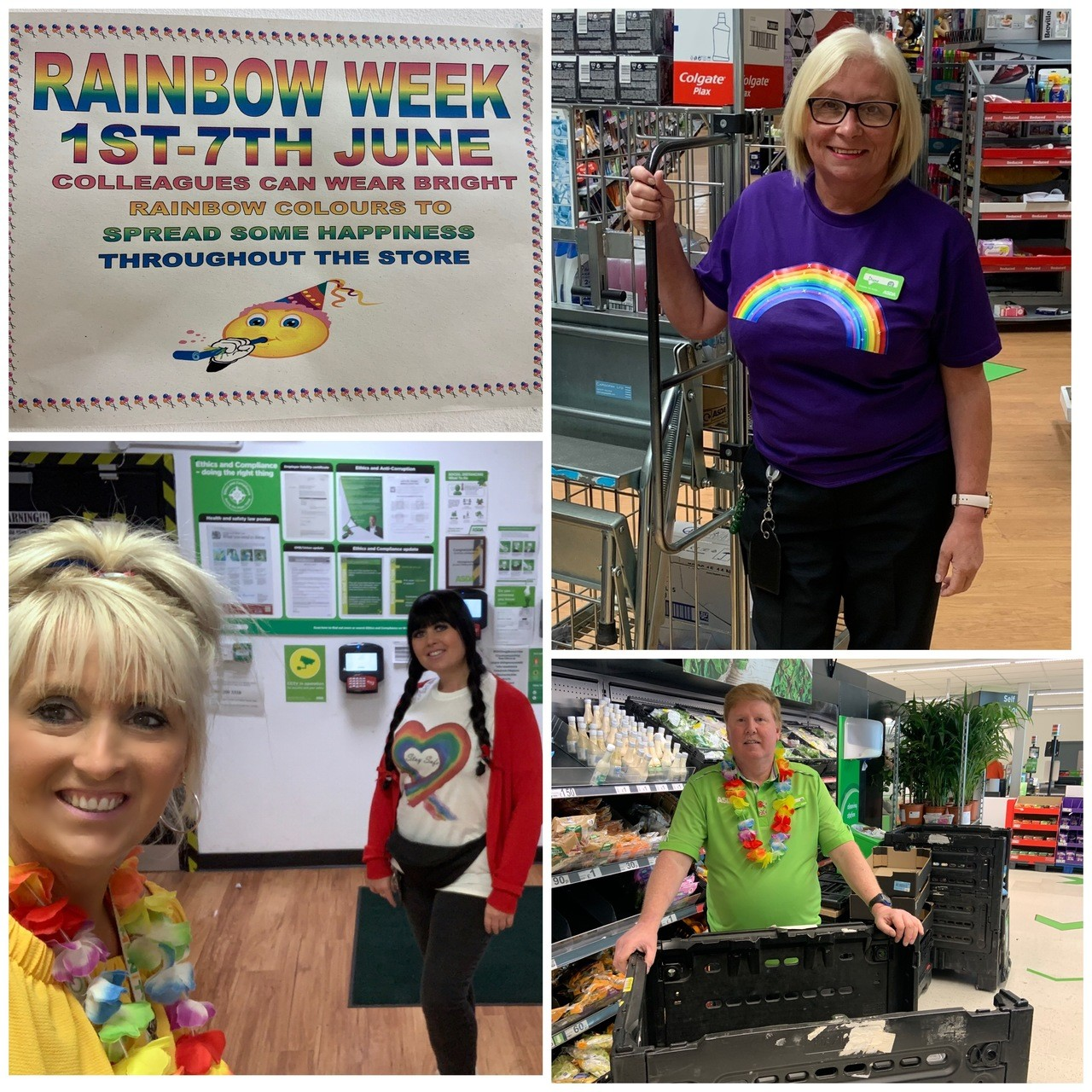 Rainbow Week at Asda Sittingbourne | Asda Sittingbourne