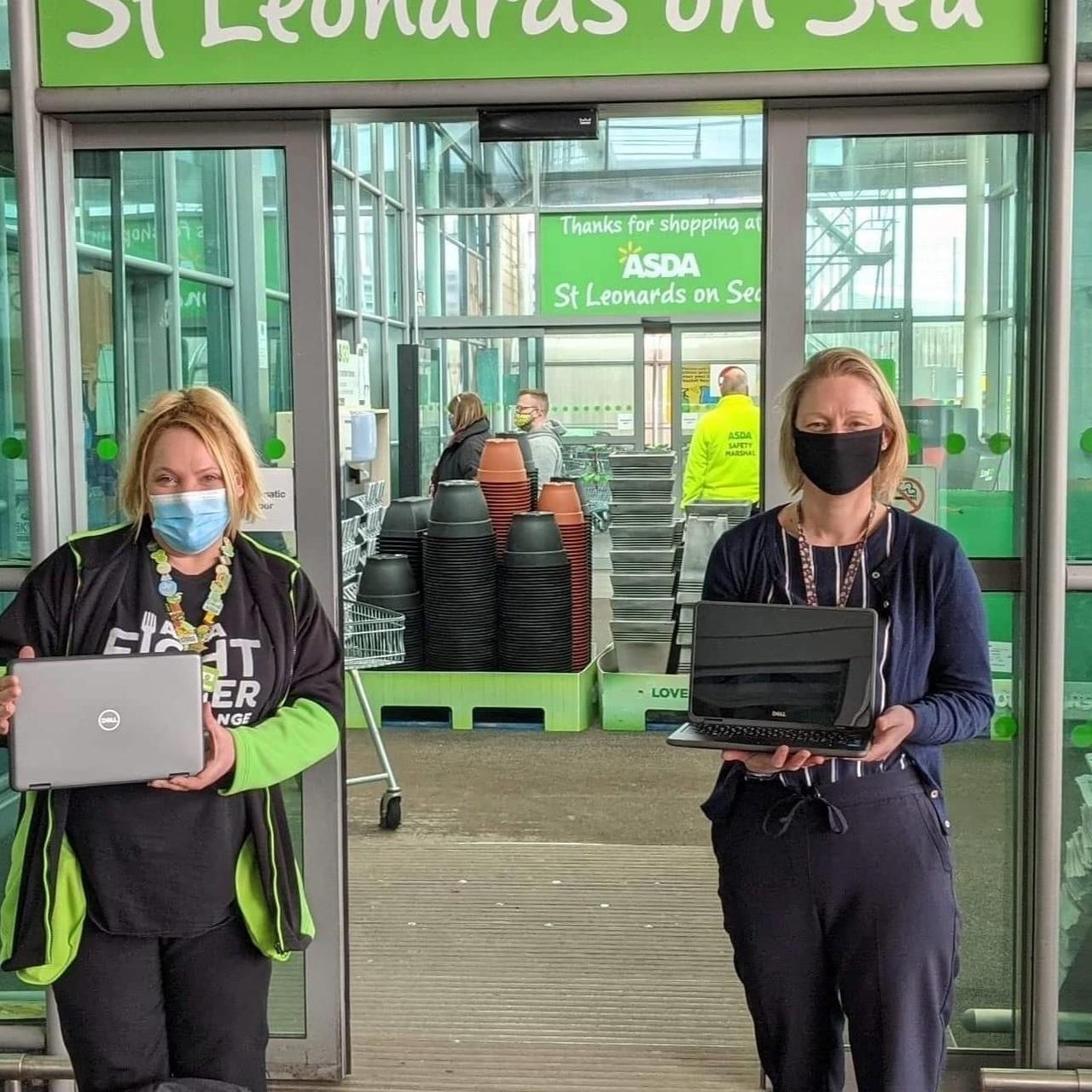 Laptop donation | Asda St Leonards on Sea
