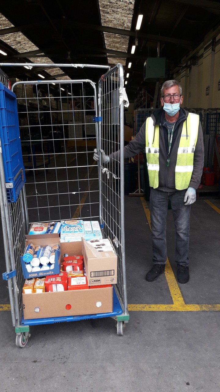 Donation of food essentials to Coventry Foodbank | Asda Coventry