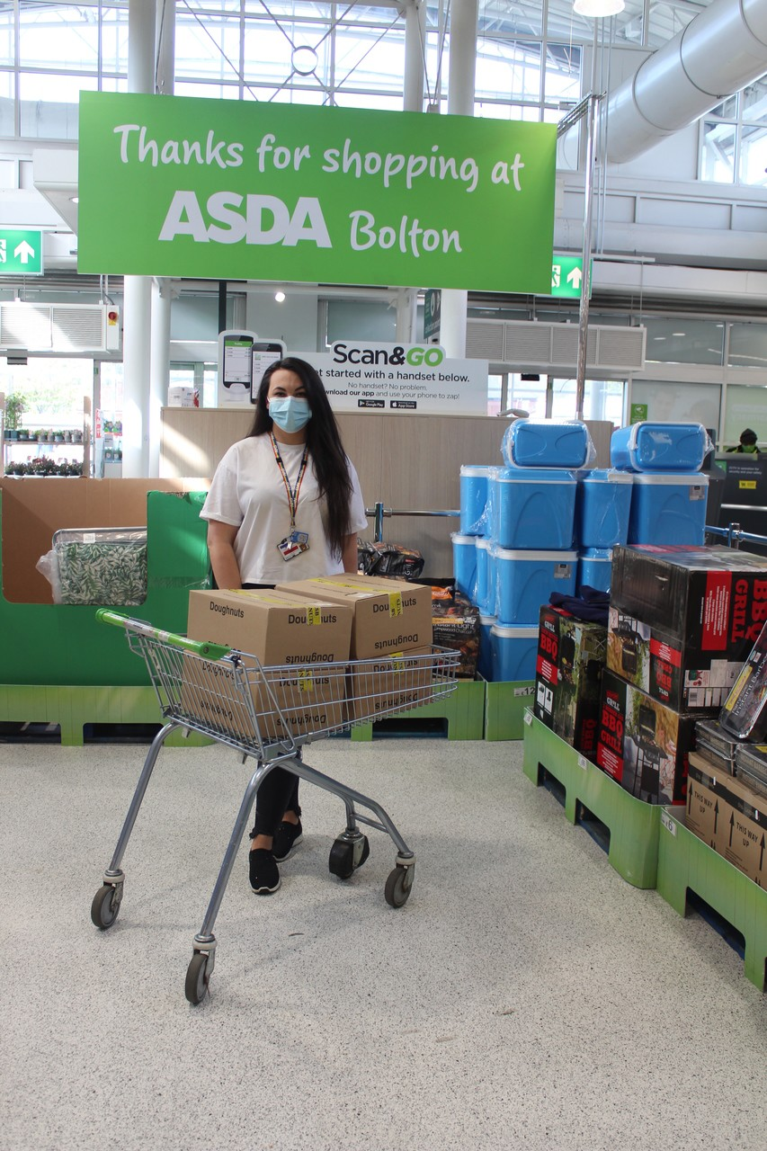 Bolton store donation to the 'International Day of the Midwife'. | Asda Bolton