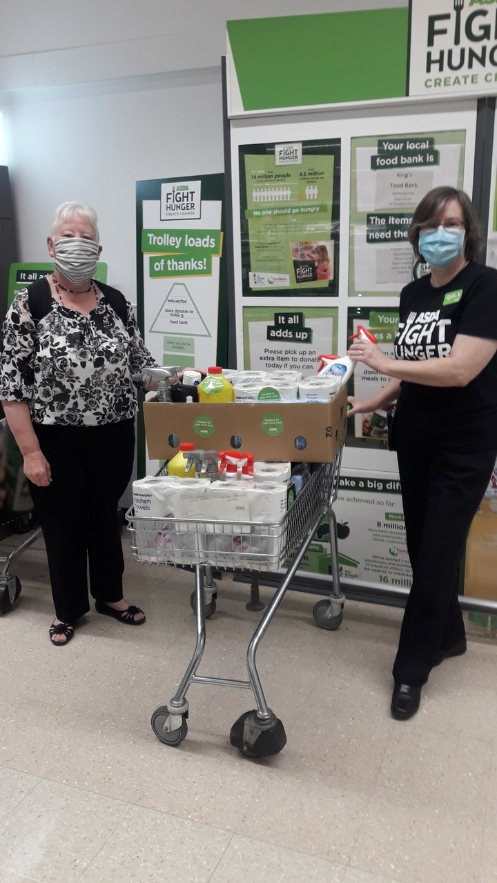 Support with cleaning supplies | Asda Darlington
