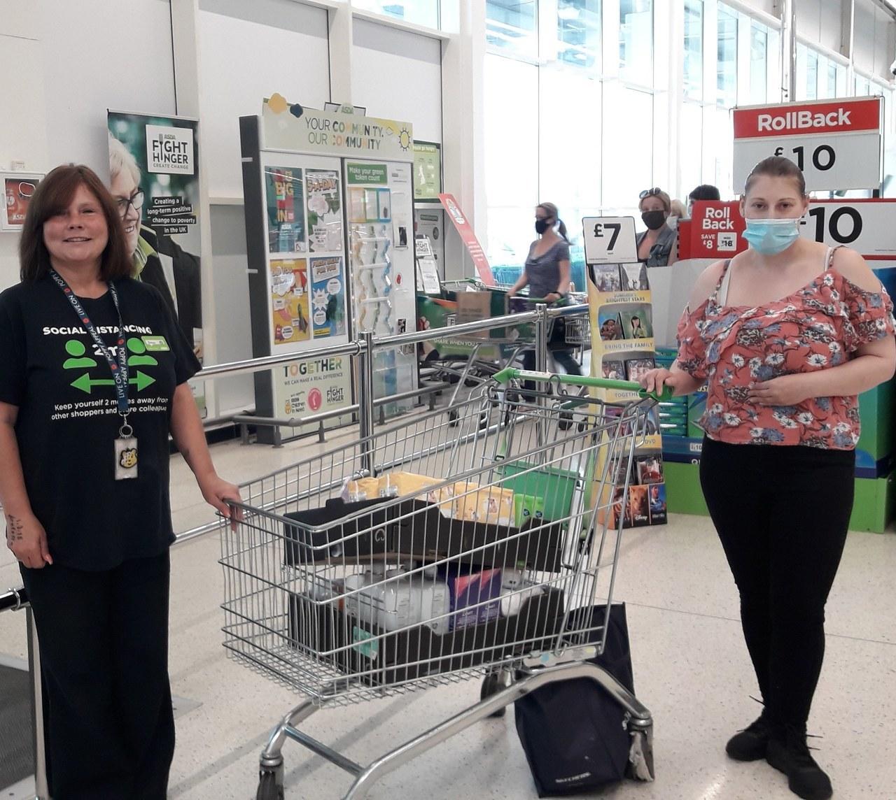 Donation for the North Tees Hospital | Asda Stockton