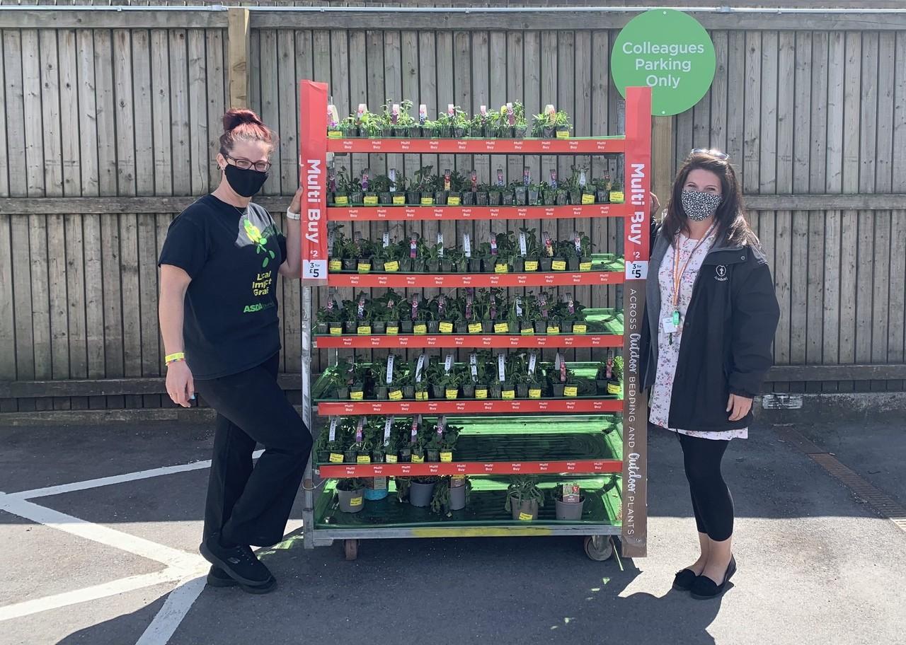 Donation of plants | Asda Weston-super-Mare