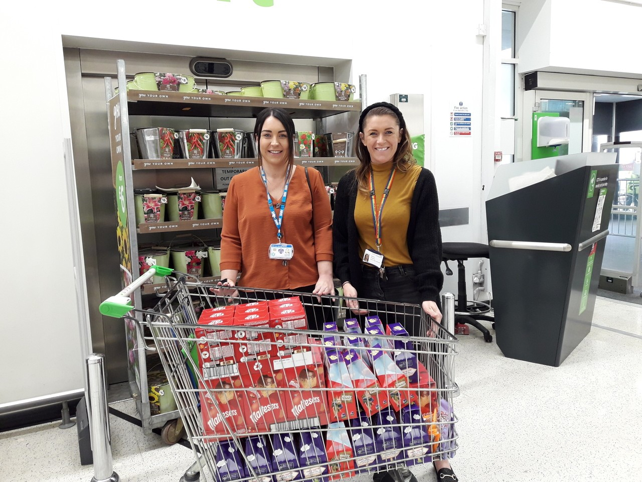 Donation to NHS mental health care unit  | Asda Thornaby