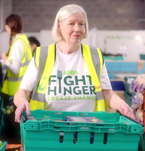 FareShare Leicester volunteer Christine Bromley