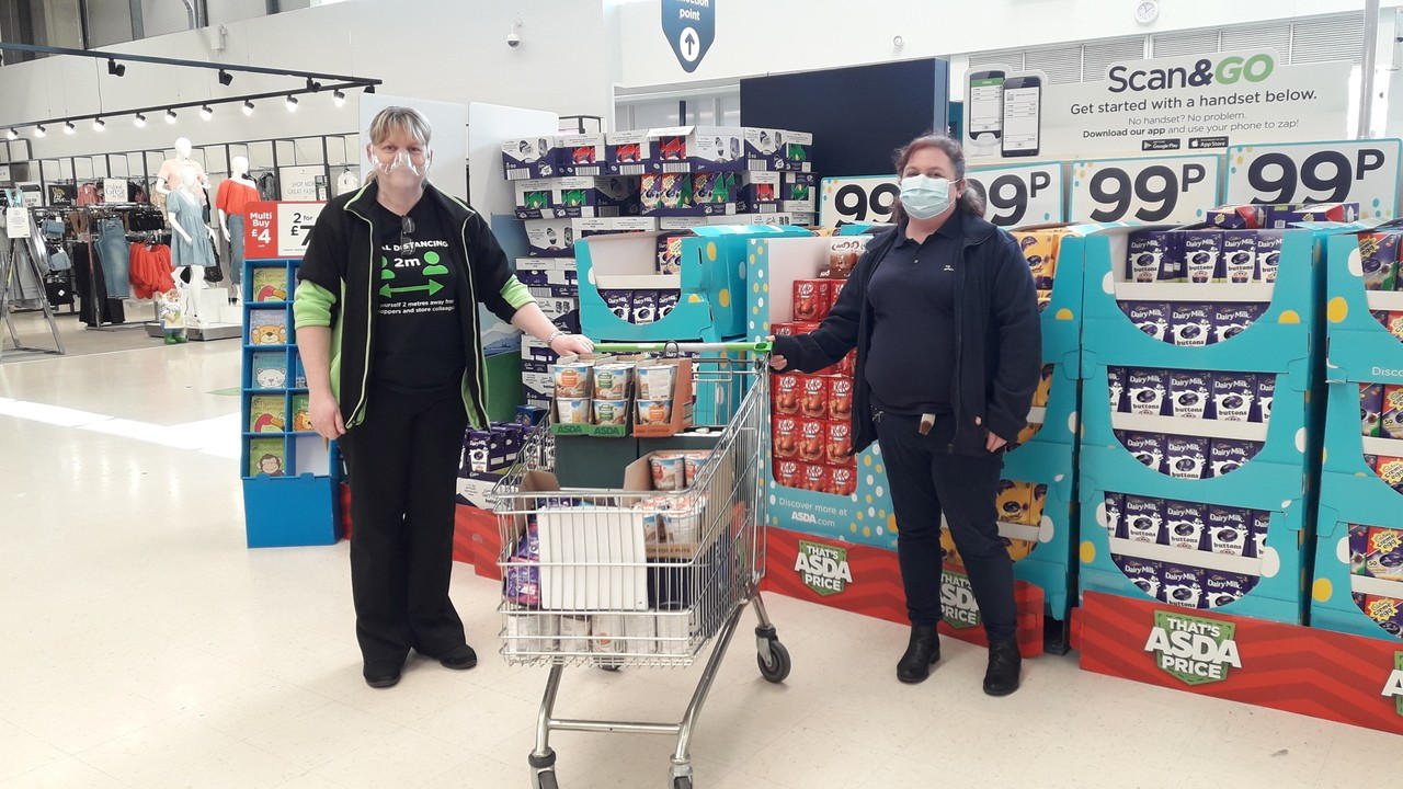 Food parcel support | Asda Wrexham