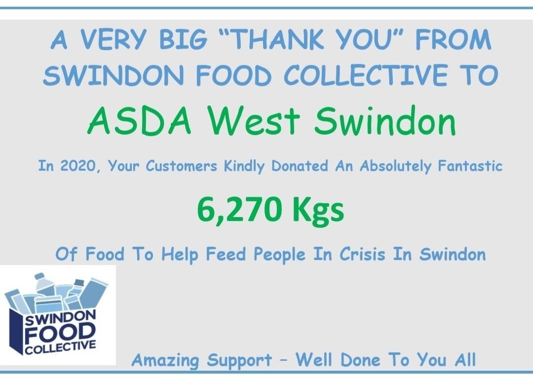 Swindow Food Collective | Asda West Swindon