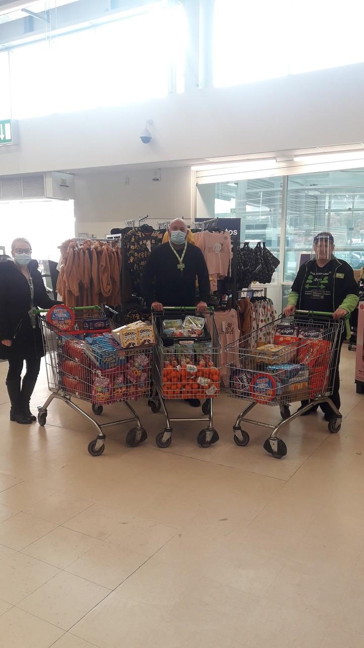 School donation | Asda Wrexham