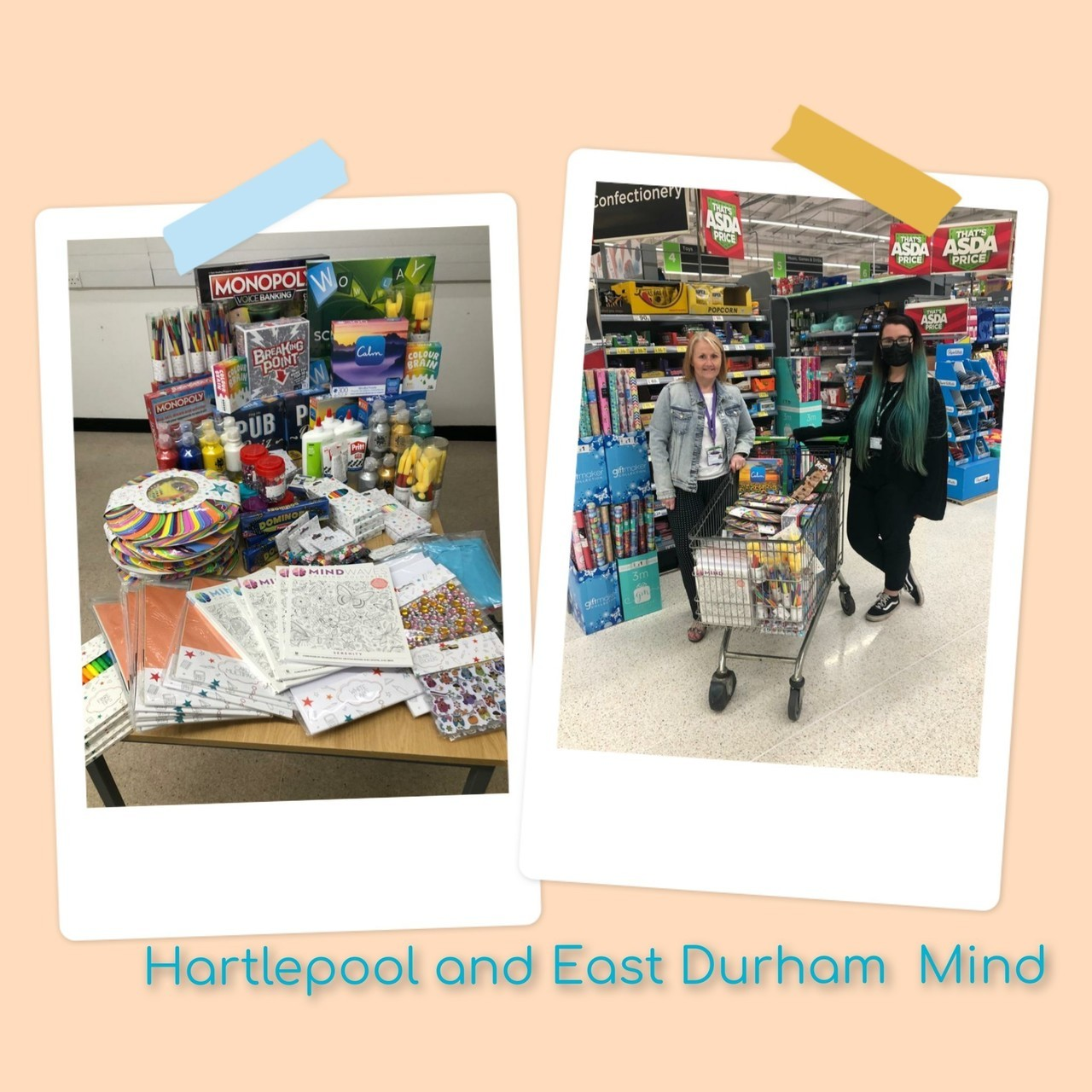 Supporting Communities grant   Asda Hartlepool