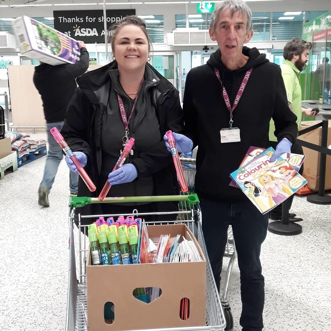 Youth and community centre donation | Asda Aintree